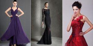 Cómo ir vestida a una boda de noche