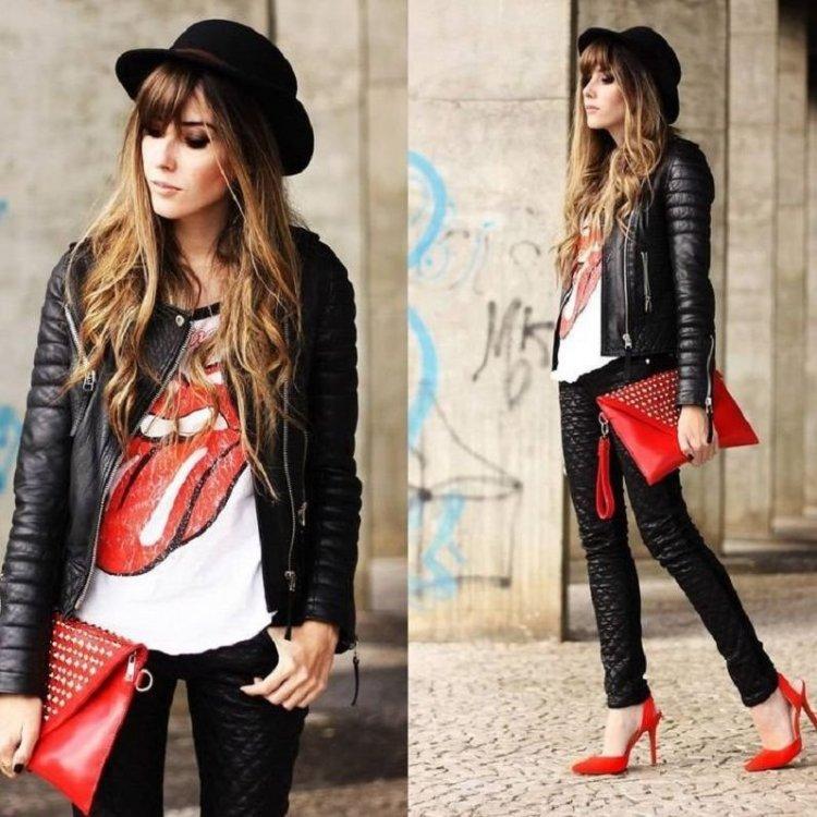 Look rockero de mujer, mis mejores ideas