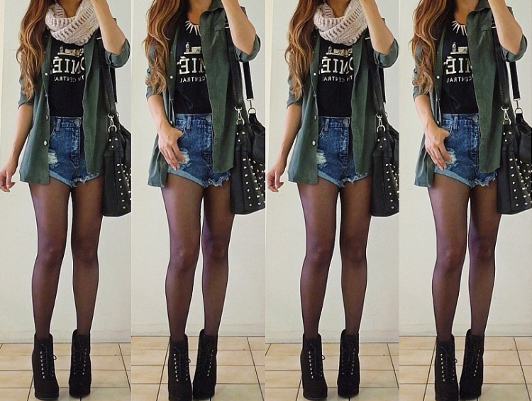 Looks hipster de mujer