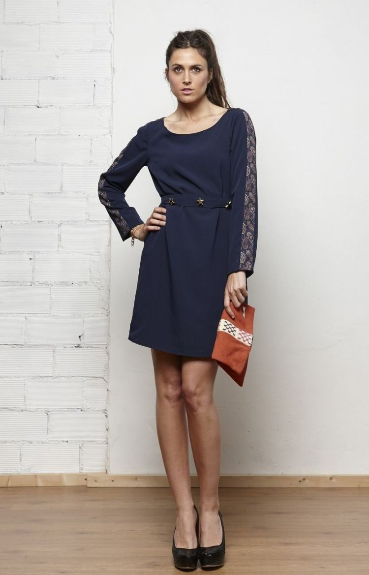 mejores para un vestido azul marino