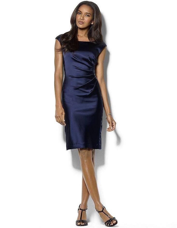 Mejores complementos para un vestido azul marino - El armario de Sofu00eda