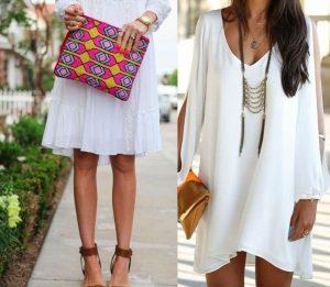 Mejores complementos para un vestido blanco