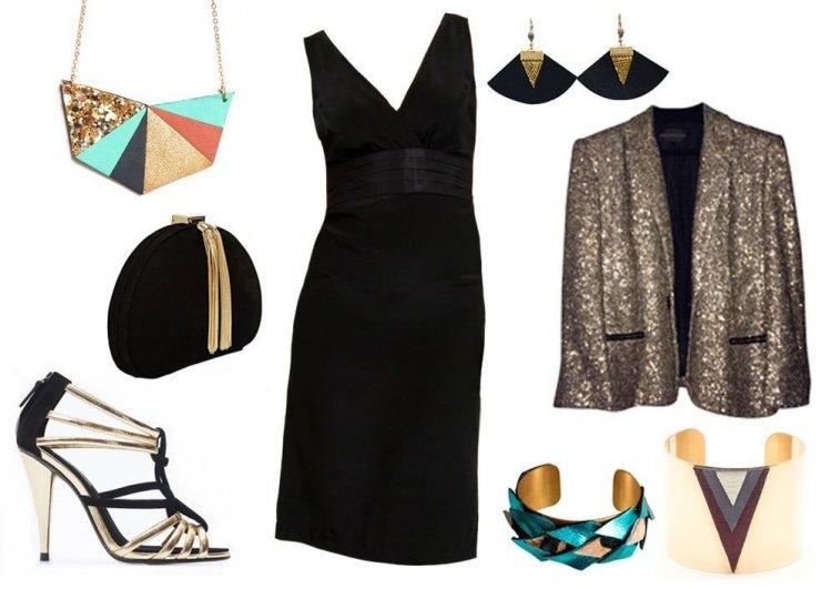 Mejores complementos para un vestido negro