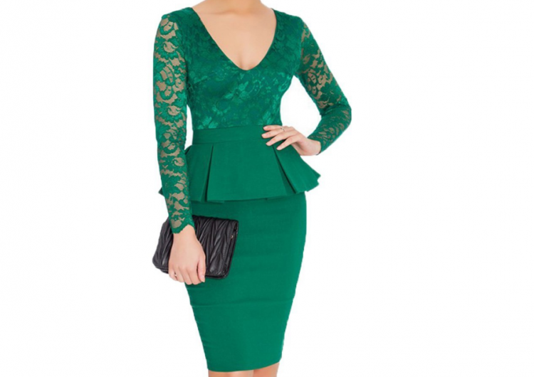 Vestidos verdes para ir de boda
