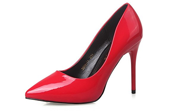 892231238 Elegantes zapatos de charol de color rojo con revestimiento sintético y  prácticas suelas de goma. Estos bonitos zapatos con un material suave y un  tacto muy ...