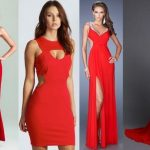 Cómo combinar un vestido rojo