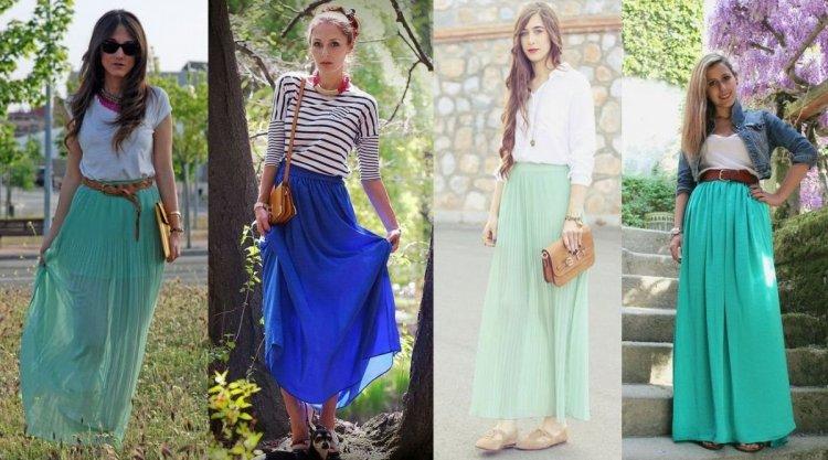 50f2246a85 Cómo combinar una falda larga - El armario de Sofía