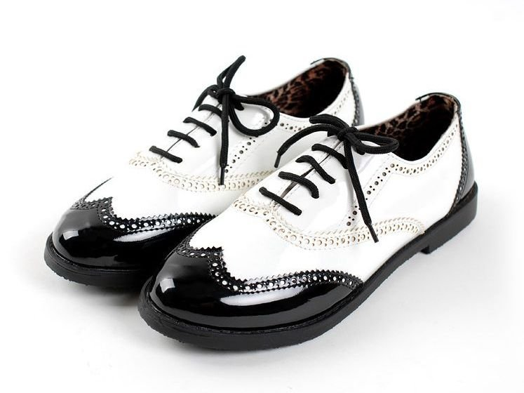 Womens Shoes Black Oxfords