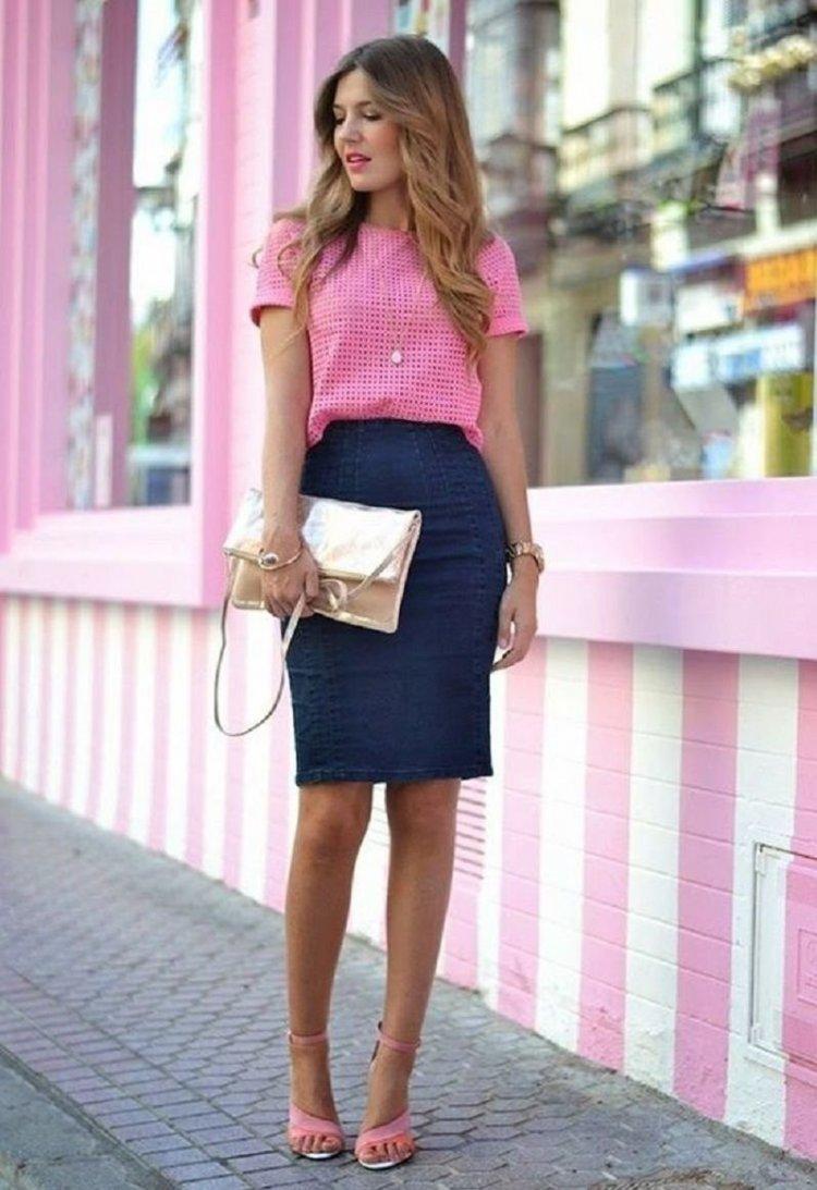 Look pink de oficina