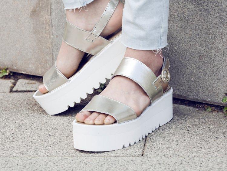 36685b88 Cómo vestir con zapatos y sandalias de plataformas - El armario de Sofía