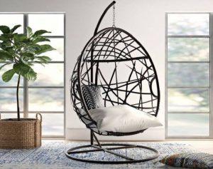 Tips para decorar una habitación con una silla colgante